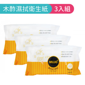 木酢濕拭衛生紙50抽 (3入)